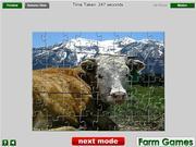 Alpine Cow Jigsaw