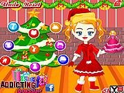 Angela Christmas Dressup