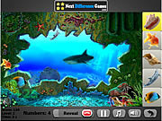 Aqualunger. Hidden objects