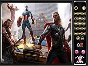 Avengers-Hidden Numbers