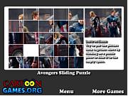 Avengers Sliding Puzzle