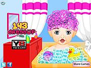 Baby First Haircut At Salon
