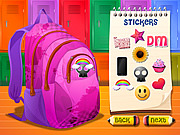 Play Backpack and Pen Design