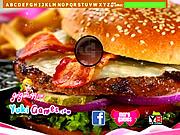 Bacon Burger Hidden Letters