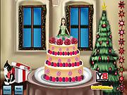Barbie Christmas Cake