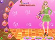 Barbie Go Shopping Dress Up