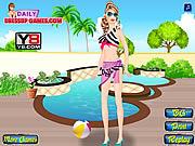 Barbie Goes Swimming
