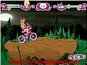 Barbie Halloween bike ride