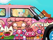 Barbie Mini Cooper Car Wash