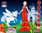 Barbie with pegasus