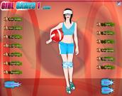 Beach Volleyball Girl Dress Up