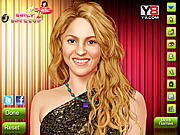 Beautiful Shakira Makeover Game