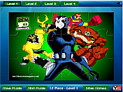 Ben 10 all powers Jigsaw