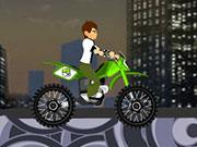 Play Ben 10 Bike Challenge