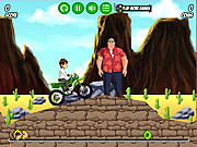 Play Ben 10 Bike Mission
