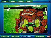 Ben 10 rock Jigsaw