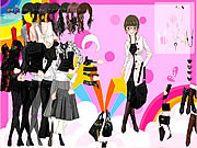 Black And White Dress Up