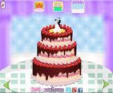 Bride Cake Decorating