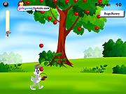Bugs Bunny Apples Catching