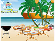 Play Cooking Gyros On The Beach