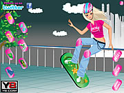 Crazy Skate Board Girl Dress Up