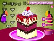 Cake piece decor