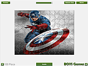 Captain America Jigsaw
