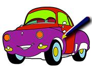 Cartoon Cars Coloring Gam…