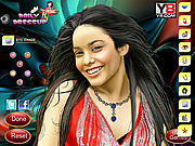 Celebrity Vennessa Hudgens Game