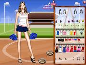 Cheerleader Dress Up Game