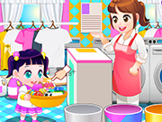 Children Laundry