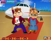 Chipmunks Dress Up
