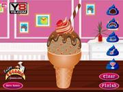 Chocolate Ice Cream Decoration
