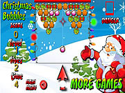 Play Christmas Bubbles Game