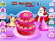 Christmas Sweet Cake Deco…