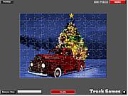 Christmas Truck Jigsaw