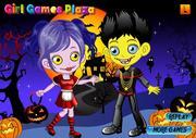 Creepy Zombie Couple