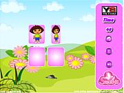 Cute Dora Matching Game