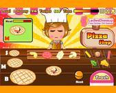 Cute Girl's Pizza Shop