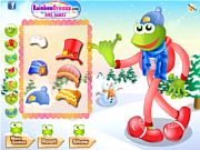 Cute Leggy Frog