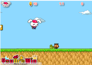 Cute Rabbit in Mario World