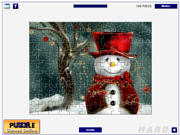 Cute Snowmen Jigsaw