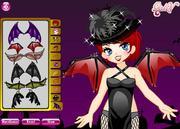 Cute Vampire Makeover