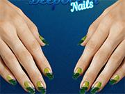 Deep Ocean Nails