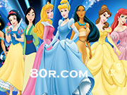 Disney Princess and Hidden Alphabets