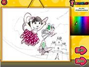 Dora Crystal Kingdom Coloring
