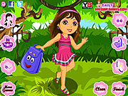 Dora in the Forest Dress Up