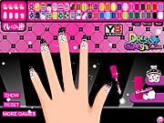 Draculaura Manicure Game