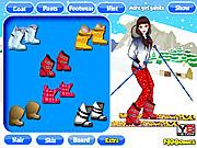 Dress Up Ski Girl