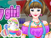 Easter Bunny Girl Dress Up